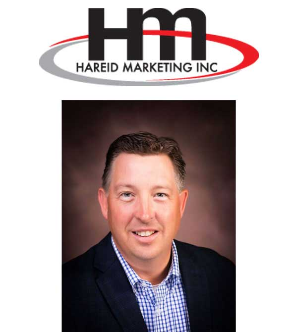 Hareid Logo with Scott Hareid at Hareid Marketing